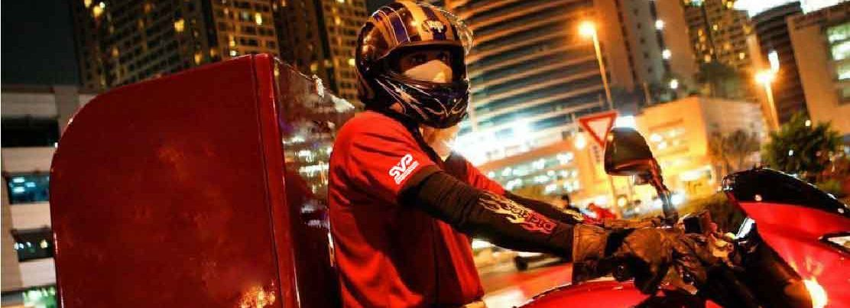 delivery bikers